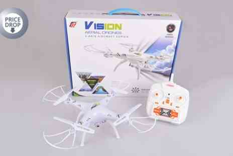 Sama - Venus FX Vision Quadcopter Drone With Free Delivery - Save 79%