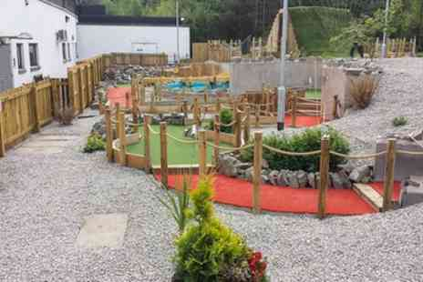 The Wee Heilan Man Adventure Golf - Round of Crazy Golf for One, Two or Four - Save 33%