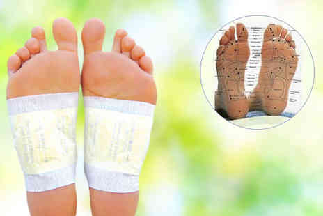 Palestran LLP - Pack of 100 Herbal Detox Foot Patches - Save 28%