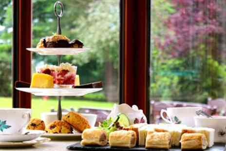 Dunbobbin Hotels - Champagne Afternoon Tea for 2 with Eden Valley Views - Save 31%