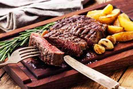 The Peppermill - Steak Meal & Prosecco for 2 - Save 37%