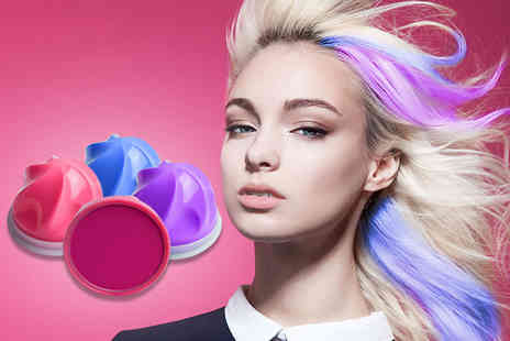 DVA Beautique - Set of six Hair Chalkin hair chalk with Swirl applicator - Save 67%