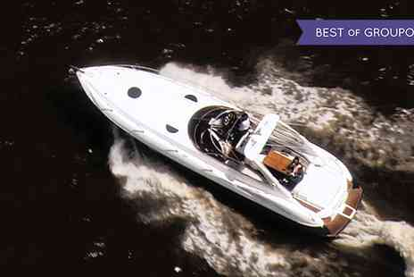 Diplomat Cruises - Secret Agent High Speed Sunseeker Experience - Save 10%