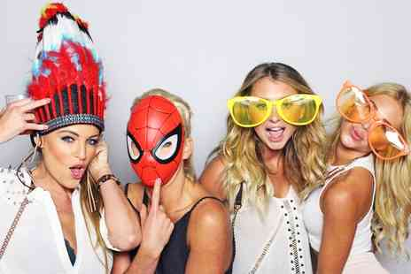 All in 1 Events Decor - Three Hour Photobooth Hire with Unlimited Prints - Save 38%