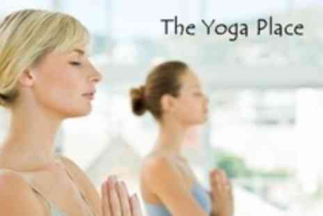 The Yoga Place - Ten 75 Minute Yoga Classes - Save 73%
