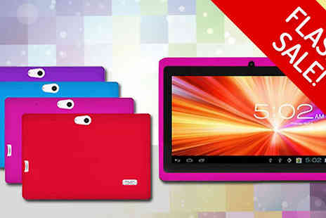 tecwizz - Flash Sale 7 Inch Childrens Android Tablet with Shockproof Case in 4 Colours - Save 81%