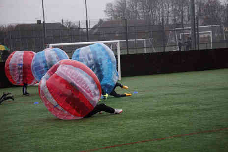 SphereMania - One hour bubble football experience for up to 15 people - Save 0%