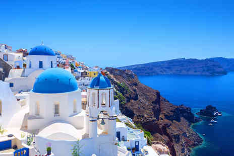 TravelStaytion - Three, Four or Seven night Santorini or Lefkada apartment stay for two - Save 44%