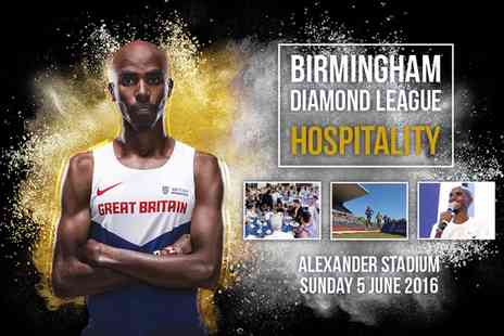 UK Athletics - Birmingham Diamond League VIP Package, Alexander Stadium on Sunday 5 June - Save 0%