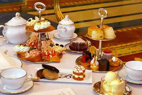 The Bentley Hotel - 5 Star Champagne Afternoon Tea for Two or Four - Save 44%