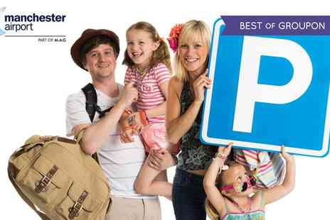 Official Manchester Airport Parking - Up to Eight or Fifteen Days Official On Site Long Stay Airport Parking - Save 37%