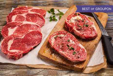 Donald Russell - Award Winning Discovery, Deluxe or Steak Lovers Steak Selection - Save 62%