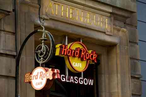 Hard Rock Cafe - Dining Experience for Two Courses with a Choice of Cocktail and Tea or Coffee - Save 50%