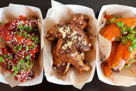 Meat Rack - Buffalo Wings, Milkshake and a Side for One or Two - Save 43%