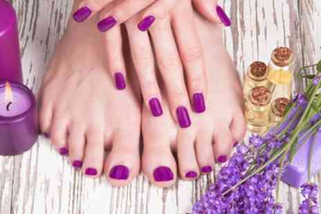 Beautiful Elegance By Claire - Shellac Manicure or Pedicure or Both - Save 47%