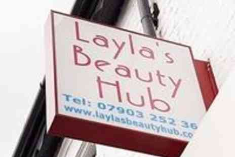 Laylas Beauty Hub - Full hair colour - Save 57%