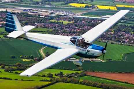 Motor Glide - 45 Minute Flying Experience over Stratford  - Save 55%