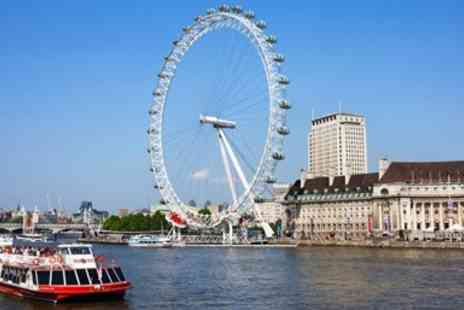 City Cruises PLC - Thames Riverboat Sightseeing Cruise - Save 44%