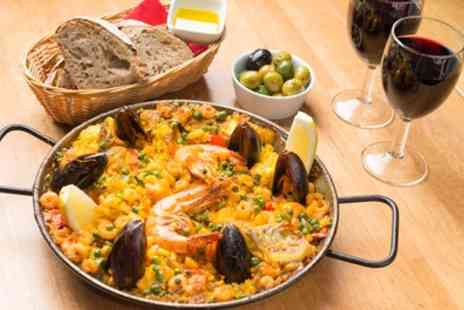 Jamon Jamon - Tapas or Paella with Drinks for Two or Four, Multiple Locations - Save 49%