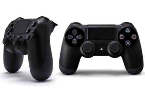 GoldBoxDeals - Sony PlayStation DualShock Four Jet Black Controller With Free Delivery - Save 16%