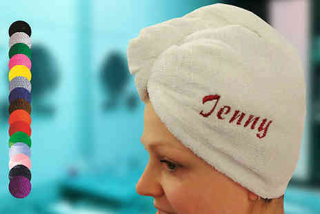 GS In Style - Personalised Hair Turbie Wrap - Save 0%
