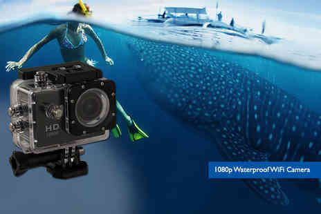 Toy Meets World - 720p waterproof HD action camera - Save 74%