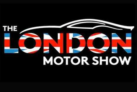 Stephen C Associates - London Motor Show 2016 General Admission Ticket on 6 or 8 May - Save 10%