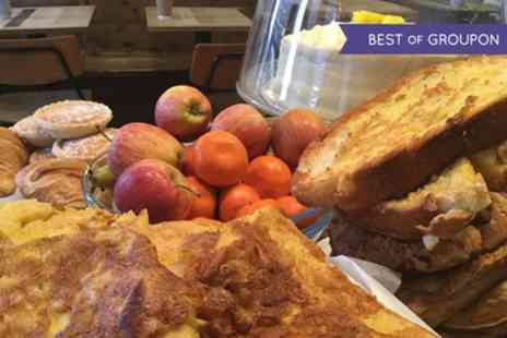 Folk Cafe - Breakfast for Two with a Choice of Smoothie or Fresh Apple Orange Juice - Save 0%