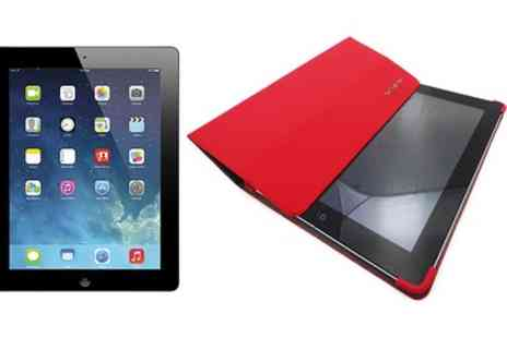 CFA TRADING - Refurbished Apple iPad 4 32GB Wi-Fi with Cellular 4G including Samsonite Red iPad Case with Free Delivery - Save 0%
