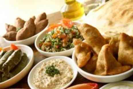Athenas Greek Restaurant - Greek Sharing Platter For Four With Wine - Save 64%