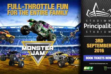 Monster Jam - Entry to Monster Jam on Saturday, 3 September - Save 0%