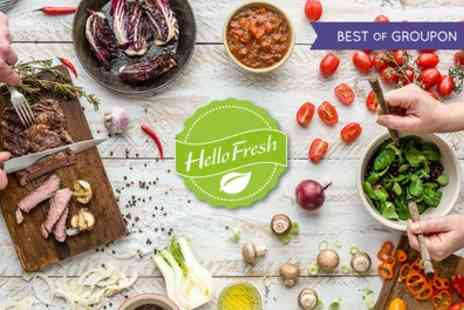 HelloFresh - HelloFresh, Weekly Meal Kit Subscriptions - Save 64%