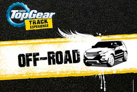 Top Gear - 4x4 Off Road Driving at the Top Gear Test Track with 2 hours Studio Time - Save 0%