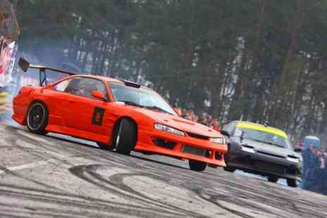 Driftland UK - Drift taxi passenger experience with three laps - Save 72%