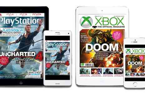 Future Publishing - One Year Subscription to Xbox or Playstation Official Magazine - Save 63%