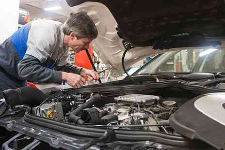Holbury Service Station - Car Service with Oil and Filter Change and Air Conditioning Check - Save 0%