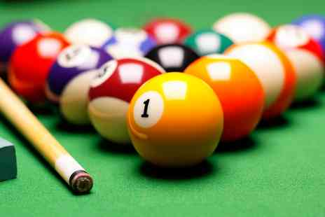 S2 Snooker Club - Two Hours of Snooker or Pool with Cheeseburger and Chips for Two - Save 56%