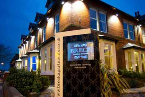 Breck Apartments Blackpool - One to Three Nights Stay For Two With Continental Breakfast Hamper - Save 0%