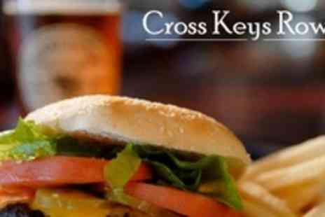 The Cross Keys - Burger Meal With Drink For Four - Save 59%