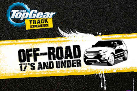 Top Gear - Junior 4x4 Off Road Driving at the Top Gear Test Track with 2 hours Studio Time - Save 0%