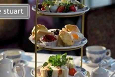The Stuart Hotel - Traditional Afternoon Tea For Two With Cakes, Scones, and Sandwiches - Save 65%