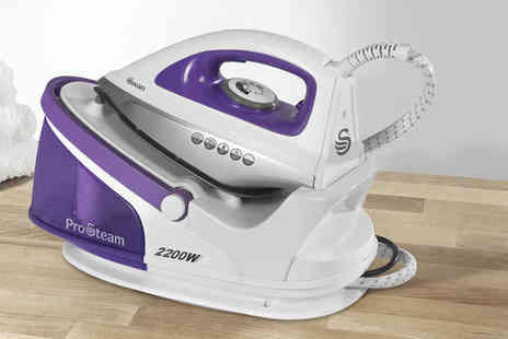 Swan Products - 2200w steam generator iron - Save 60%