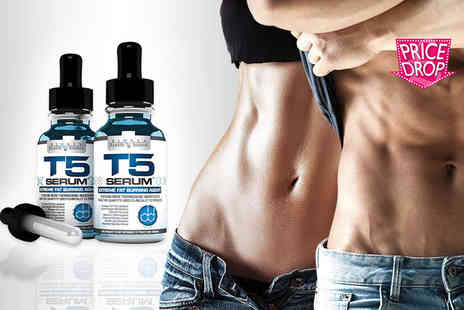 Biogen Health Science - Bottle of T5 fat burner serum XT - Save 59%