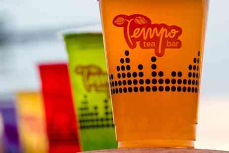 Tempo Tea Bar - Choice of One or Two Regular Drinks - Save 19%