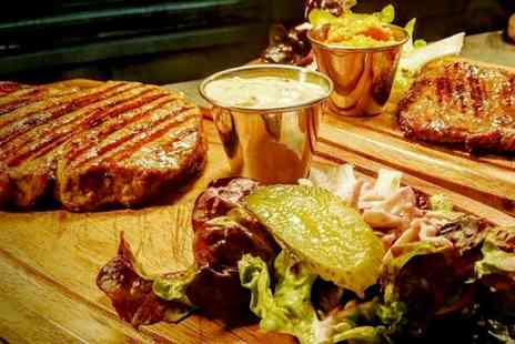 Meat Rack - Steak, Sides, Salad and Milkshakes for Two or Four - Save 55%