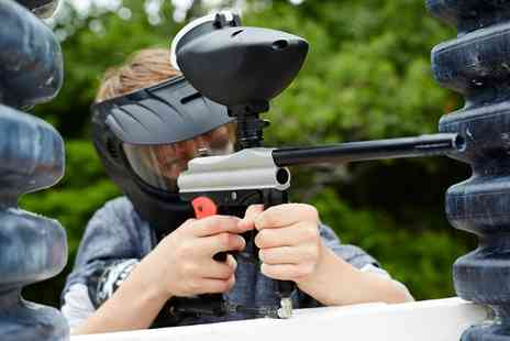 Danger Zone - Paintball with 50 Pellets for Up to 20 - Save 0%