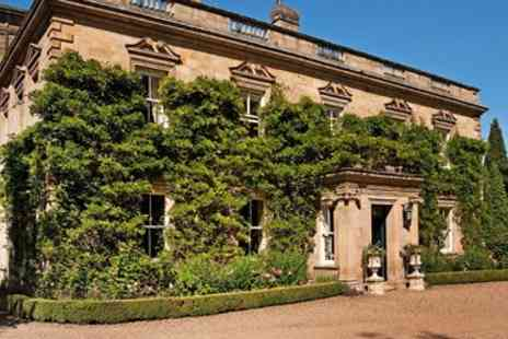 Eshott Hall Hotel - Northumberland Country House Stay with Meals  - Save 35%