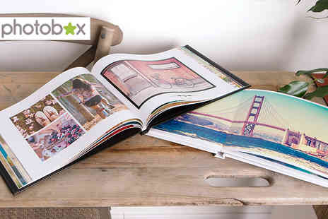 Photobox - A4 personalised hard cover photobook - Save 66%