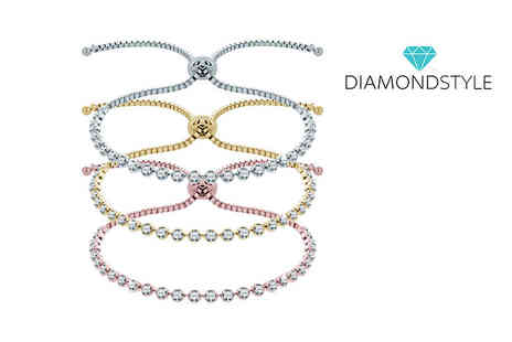 Diamond Style - Indo bracelet made with Swarovski elements - Save 89%