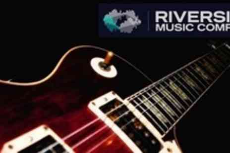 Riverside Music Complex - Three One Hour Individual Music Lessons - Save 64%